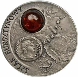 20 złotych 2001 Szlak Bursztynowy - srebro