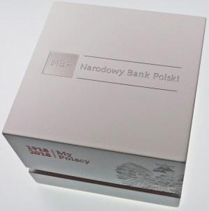100 złotych 2018 Odzyskanie Niepodległosci, kula - srebro