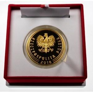 1 złoty 2018 Odzyskanie Niepodległości - złoto
