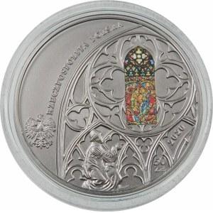 50 złotych 2020 Kościół Mariacki w Krakowie - srebro