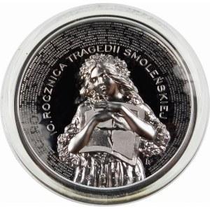 10 złotych 2020 10-ta rocznica tragedii smoleńskiej - srebro