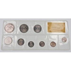 Zestaw monet PRL - oryginalna zgrzewka 9 monet