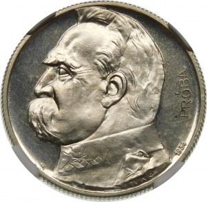 PRÓBA 5 złotych 1934 Piłsudski