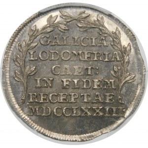 Księstwo Galicji i Lodomerii, Żeton 1773