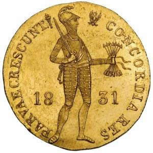 Powstanie Listopadowe, Dukat 1831 – jak lustrzanka