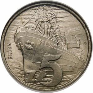 Próba 5 złotych 1958 Waryński - nikiel