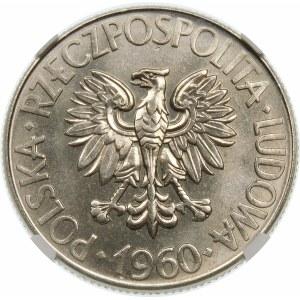 Próba 10 złotych 1960 Kościuszko - nikiel
