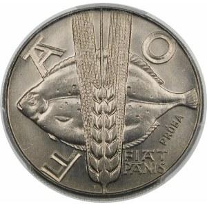 Próba 10 złotych 1971 FAO - nikiel