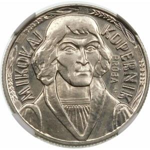 Próba 10 złotych 1973 Kopernik - nikiel