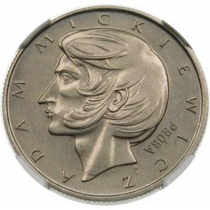Próba 10 złotych 1974 Mickiewicz - nikiel
