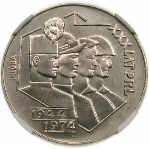 Próba 20 złotych 1974 XXX PRL - nikiel