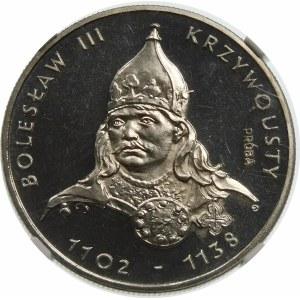 Próba 50 złotych 1982 Krzywousty - nikiel