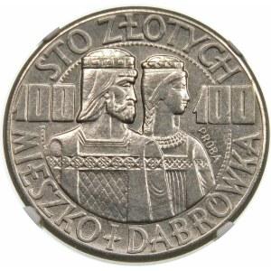 Próba 100 złotych 1960 Mieszko i Dąbrówka - nikiel