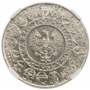 Próba 100 złotych 1966 Mieszko i Dąbrówka - nikiel