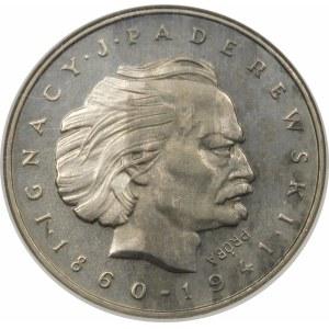 Próba 100 złotych 1975 Paderewski - nikiel