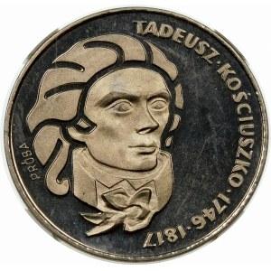 Próba 100 złotych 1976 Kościuszko - nikiel