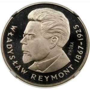Próba 100 złotych 1977 Reymont - nikiel