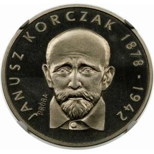 Próba 100 złotych 1978 Korczak - nikiel