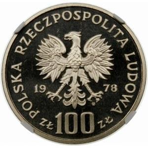 Próba 100 złotych 1978 Interkosmos - nikiel