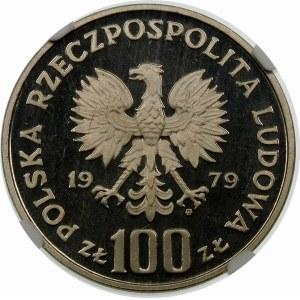 Próba 100 złotych 1979 Zamenhof - nikiel