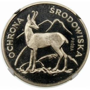 Próba 100 złotych 1979 Kozica - nikiel
