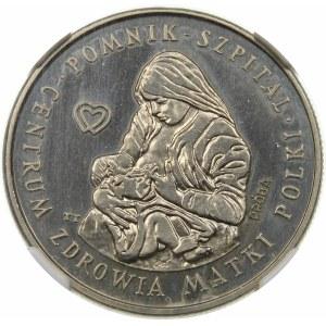Próba 100 złotych 1985 Centrum Zdrowia Matki Polki - nikiel