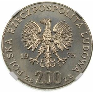 Próba 200 złotych 1975 Faszyzm - nikiel