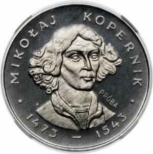 PRÓBA 100 złotych 1973 Kopernik - aluminium