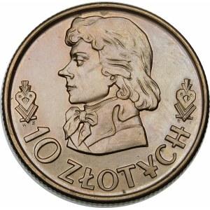 PRÓBA 10 złotych 1968 Kościuszko - miedzionikiel
