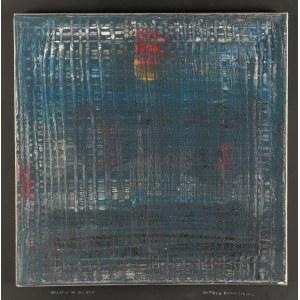 Witold DAMASIEWICZ (1919-1996), Miasto w deszczu