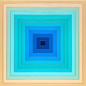 Izabela Kozłowska (ur. 1969), Blue hole, 2020