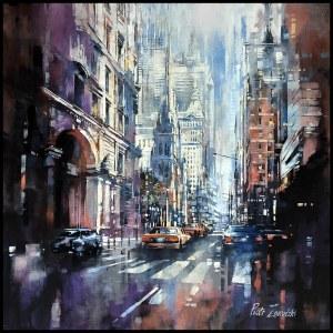 Piotr Zawadzki (ur. 1971), Metropolis: Broadway Trinity, 2020