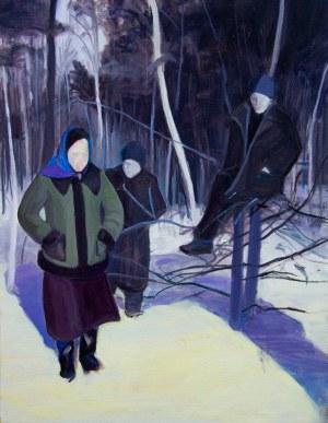 Wioleta Rzążewska (ur. 1986), Zimowa sceneria, 2020