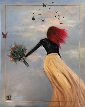 Zanna Brzyzek (ur. 1980), Dancing with butterflies, 2020