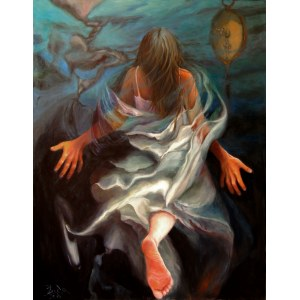 Iwona Duda (ur. 1966), Uciekająca Pieta, 2019