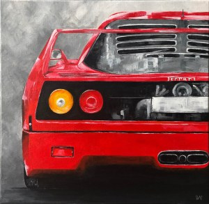 Weronika Wójcik (ur. 1994), Ferrari F40, 2020