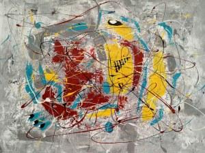 Ewa Najdenow (ur. 1967), Action Abstract VI, 2020