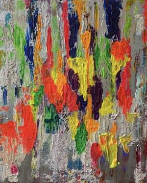Gossia ZIELASKOWSKA (ur. 1983), Bubble gum map, 2020