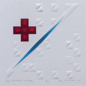 Jerzy GRABOWSKI (1933-2004), Informacja – znak krzyża, 1990