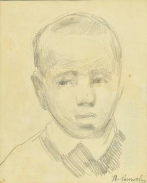 Stanisław Kamocki (1875-1944), Głowa małego chłopca, ok. 1910