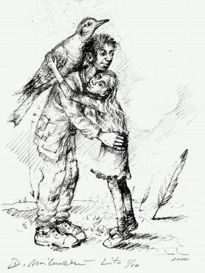 Dariusz Miliński (ur. 1957), z cyklu Tato, 2020