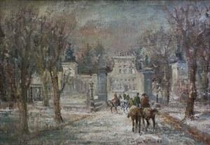 Jan Betley, Wilanów zimą