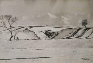 Edward Hartwig, Podhale zimą