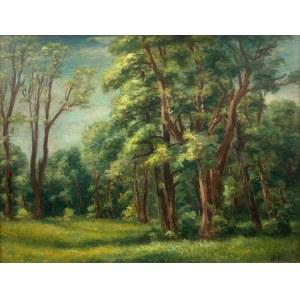 Władysław Lam, Pejzaż leśny