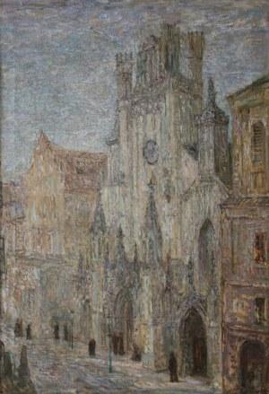 Konstanty Mackiewicz, Katedra św. Jana w Warszawie