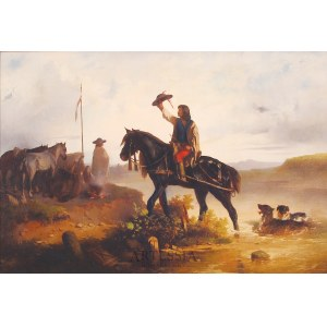 Józef Jaroszyński (1835-1900), Powitanie