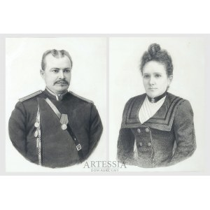 Józef Balukiewicz (1831-1907), Para portretów, 1903