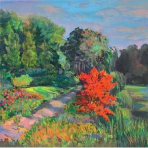 Maria Dziopak, Spacer w ogrodzie