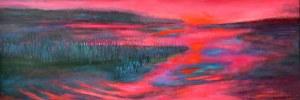 Barbara Bielecka-Woźniczko, Nad wodą przy zachodzie słońca