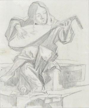 Stanisław Kamocki (1875-1944), Studium rzeźby Lutnisty, 1896 (?)